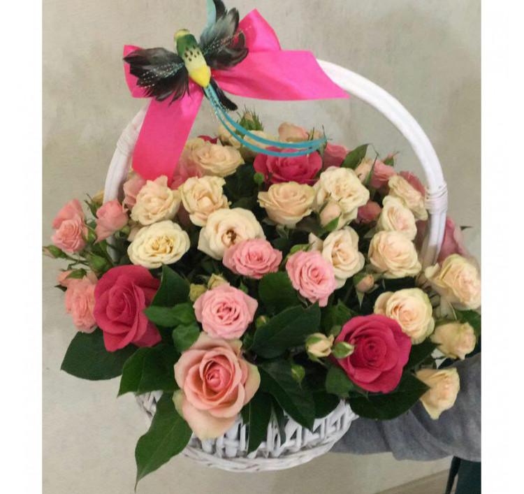 Букет «Розовый сад»<br />
