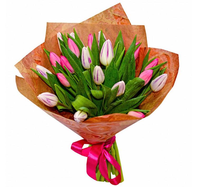 Букет «21 тюльпан»<br />