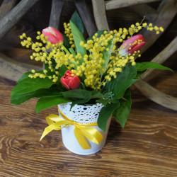 Букет цветов до 1000 рублей 36