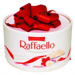 Букет «Конфеты Raffaello с бантом»